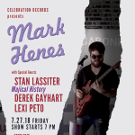 "Mark Henes and The Strippers ""Transitions"" Physical CD Show"