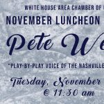 Chamber Luncheon featuring Nashville Predators, Pete Weber