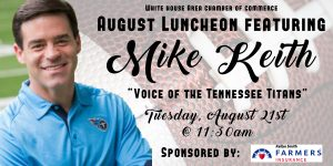 Chamber Luncheon ft. Mike Keith and sponsored by K...