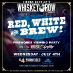 Whiskey Rooftop Fireworks Viewing Party