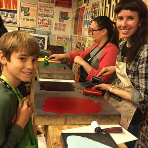 Family Program: Relief Printmaking with Hatch Show...