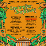 September Sundown feat. Great Peacock, Greyhounds, Scott Mulvahill, Sarah Siskind, and more!
