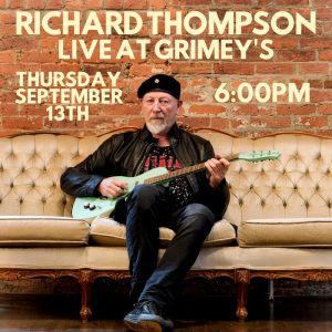 IN STORE: Richard Thompson