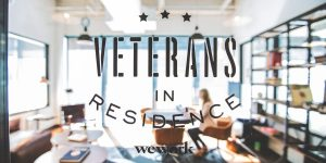 WeWork Veterans in Residence Launch Party