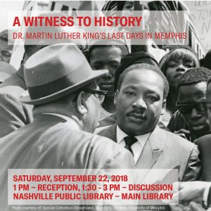 Dr. King's Last Days in Memphis