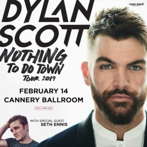 Dylan Scott: Nothing To Do Town Tour 2019