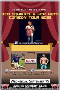 Red Squirrel & Her Nuts Comedy Tour