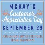 McKay's Customer Appreciation Day