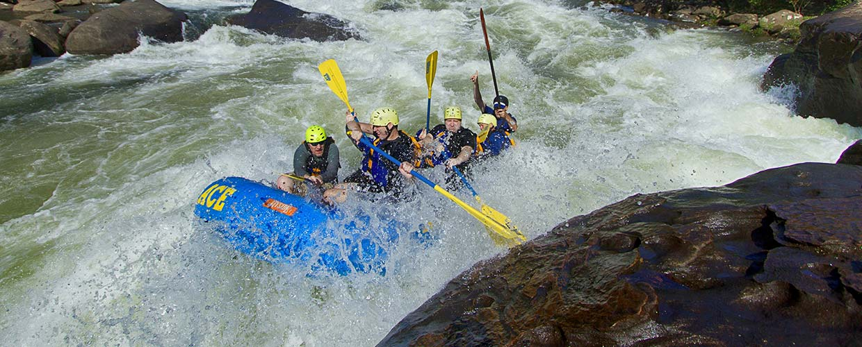 Gauley Whitewater Rafting and Camping