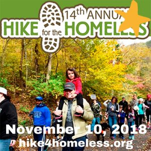 14th Annual Hike for the Homeless