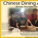 Chinese Dining Adventure #34 in November