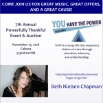 "7th Annual ""Powerfully Thankful"" Event and Auction"