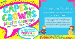 Capes & Crowns Breakfast Benefit Carnival