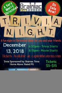 Christmas Trivia & Movie Night