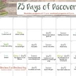 25 Days of Discovery