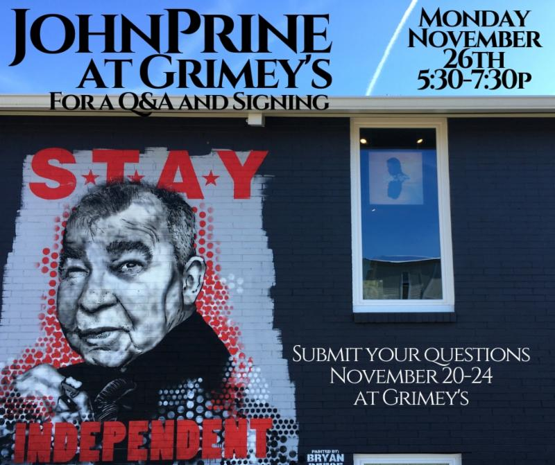 IN-STORE: John Prine Q&A and Signing