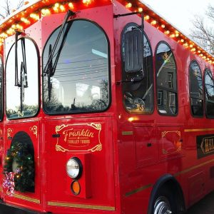 Hello Trolley Franklin Holiday Lights Tour