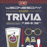 Live Music and Trivia at ACME