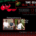 """""""Deck the Balls"""" Holiday Party by Tame the Beast"""