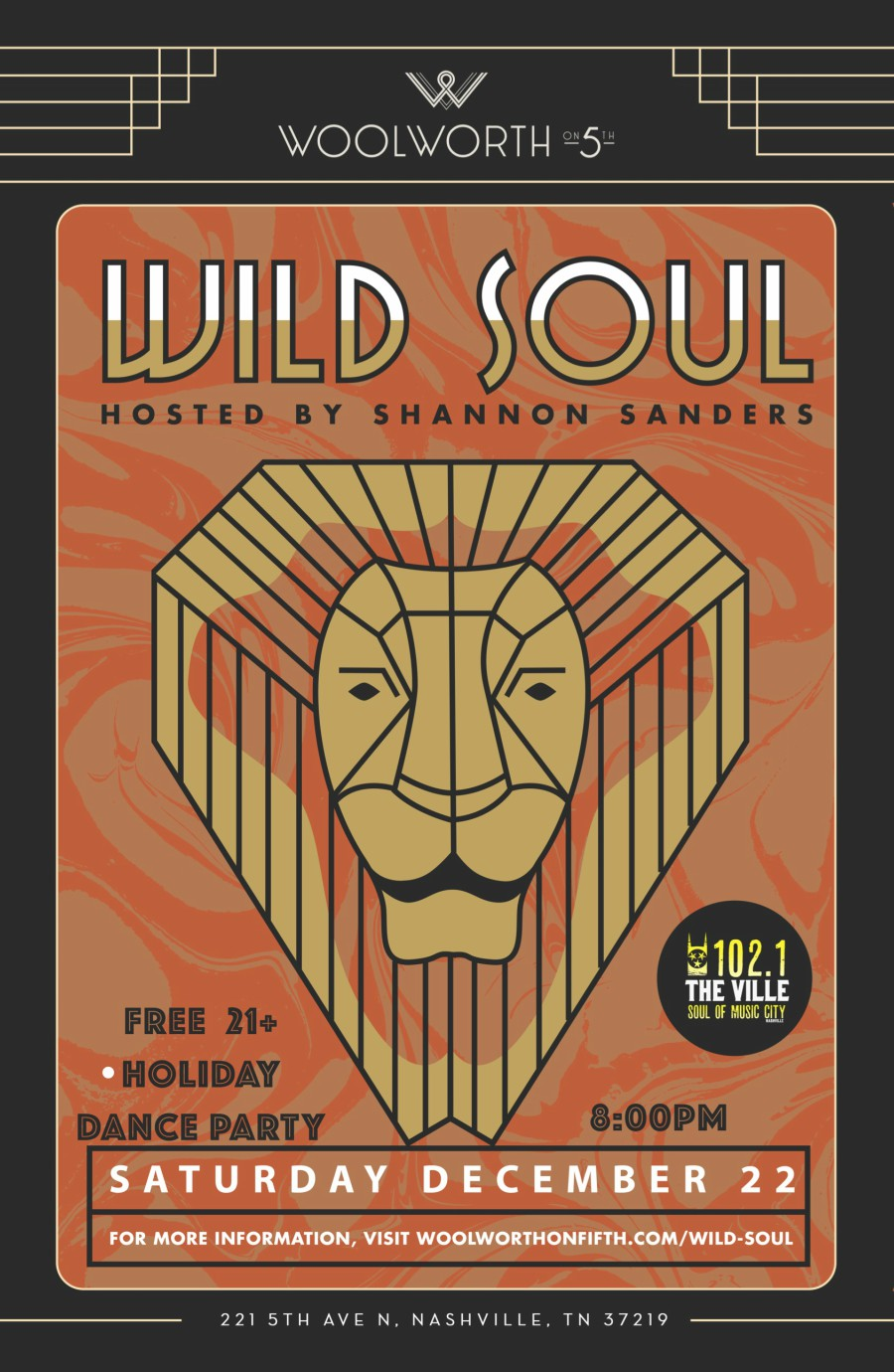 Wild Soul Holiday Dance Party - NowPlayingNashville com
