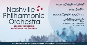 A Holiday Gift with the Nashville Philharmonic Orc...
