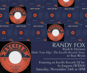 IN-STORE: Randy Fox Excello Records Book Reading/S...