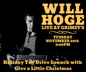 IN-STORE: Will Hoge
