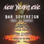 Bar Sovereign New Year's Eve