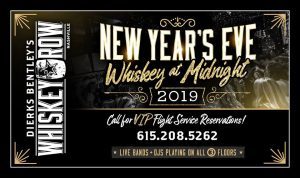 Whiskey at Midnight New Years Eve!