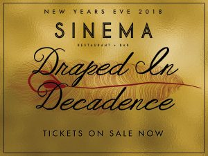 New Years Eve - Draped in Decadence
