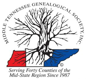 Middle TN Genealogical Society January 2019