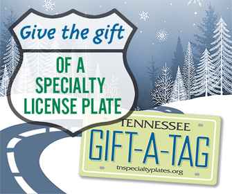 Gift-A-Tag Tennessee Specialty License Plate