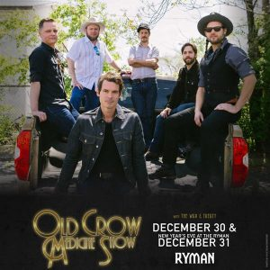 NYE | Old Crow Medicine Show w/ Special Guest The War & Treaty