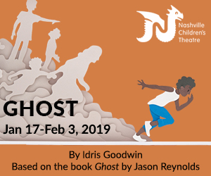 Nashville Children's Theatre presents Ghost Jan 16 - Feb 3