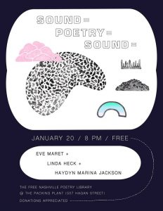 Sound-Poetry-Sound at The Free Nashville Poetry Li...