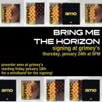 IN-STORE: Bring Me The Horizon