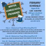 Historic Mansker's Station Home School Program - February