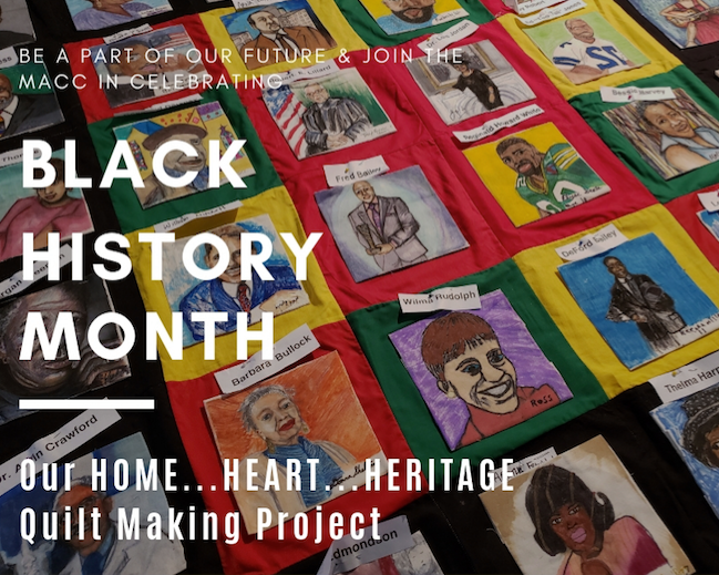 Our HOME   HEART   HERITAGE Quilt Making Project at the MACC