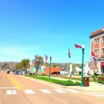 Courthouse Square in Linden