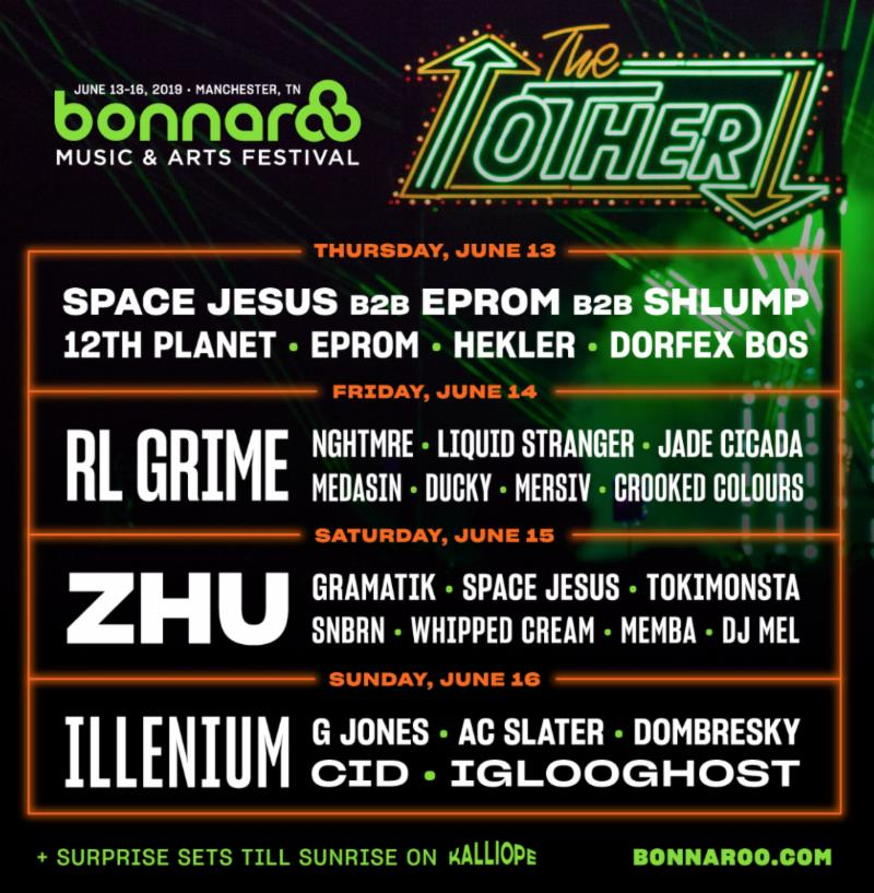 The Other Stage Lineup