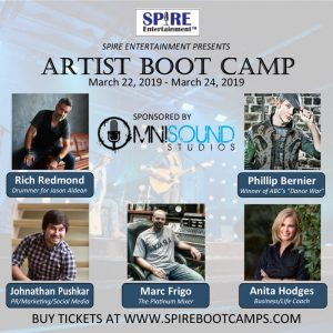 Spire Entertainment Artist Boot Camp