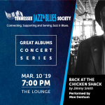 "Great Album Concert Series - ""Back at the Chicken Shack"""