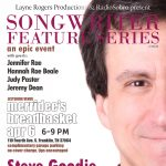 Songwriter Feature Series with Steve Goodie