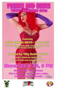 Freaks and Geeks Variety Burlesque Revue - March 2...