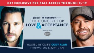 Ty Herndon: The Concert for Love and Acceptance