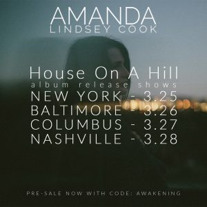 Amanda Lindsey Cook - House On A Hill Tour