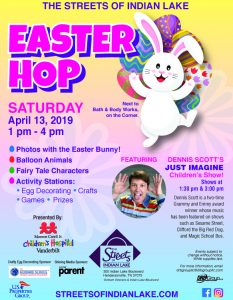 Easter HOP at The Streets!