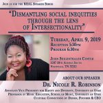 REAL Speaker Series with Dr. Nicole R. Robinson