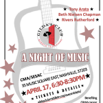 A Night of Music Benefiting Gilda's Club