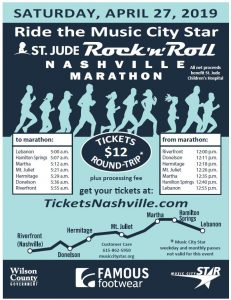 Rock N Roll Marathon Train